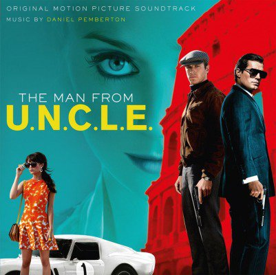 THE MAN FROM U.N.C.L.E. SOUNDTRACK 2LP 180 G