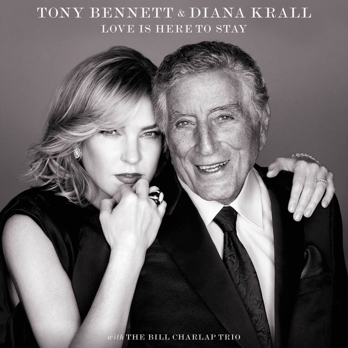 DIANA KRALL & TONY BENNETT - LOVE IS HERE TO SAY  LP