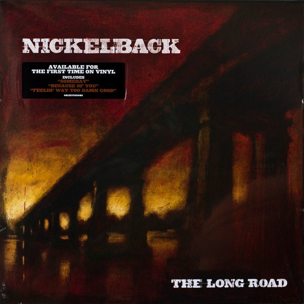 NICKELBACK - THE LONG ROAD LP