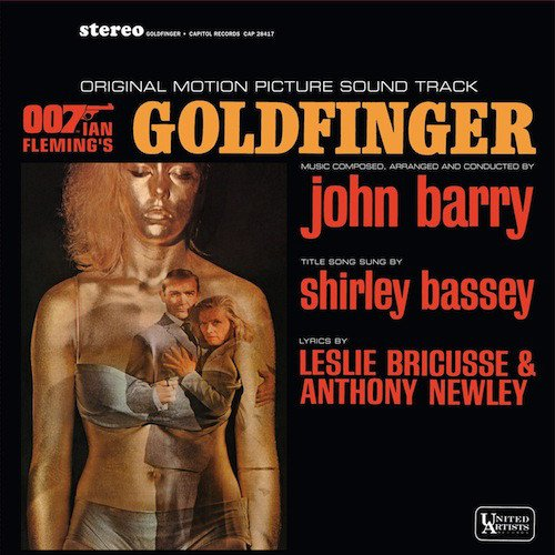 SOUNDTRACK - GOLDFINGER LP