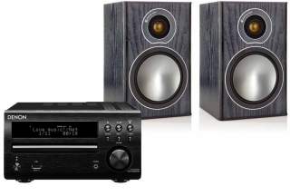 Denon RCD-M40 DAB + Monitor Audio Bronze 1