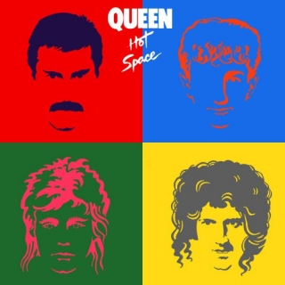 QUEEN - HOT SPACE LP 180 G