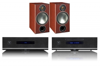 YBA Design WAM + Monitor Audio Bronze 2