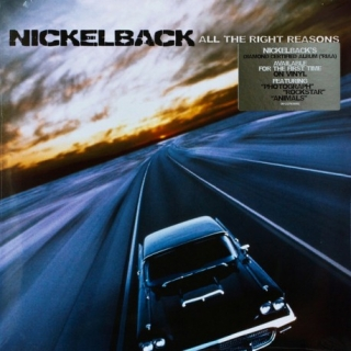 LP NICKELBACK - ALL THE RIGHT REASONS LP